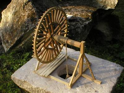 10 Maquette de roue de carrier