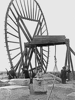 2 Roue de carrière à Clamart vers 1900