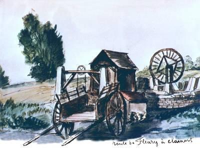 3 Route de Fleury à Clamart. Victor CAPAUL, 1860.