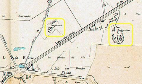 38 Localisation des tuileries à proximité du petit Clamart